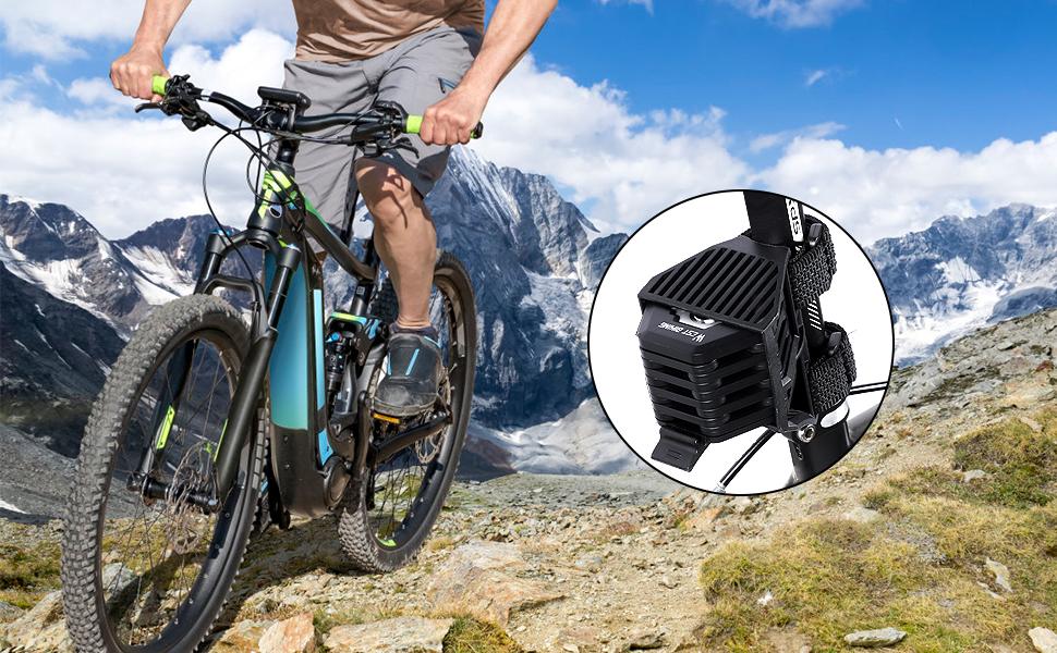 Bike Lock Holder Hamburger Shaped Heavy Duty Anti-theft Chain Lock Folding Zinc Alloy Bicycle Locks