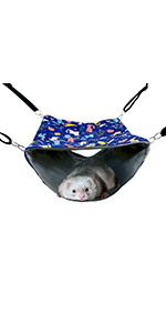 FULUE D-Hammock for Rats Ferret