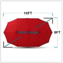patio umbrella clearance