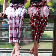 pyjama pajama for women cotton sleepwear payjama nightdress lounge casual pant with pocket