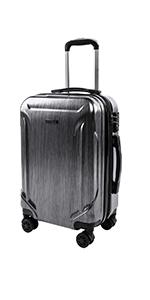 798641da48fa Amazon.com: CarryOne Super Lightweight ABS Hard Shell Travel Carry ...