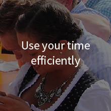 Use your time efficiently