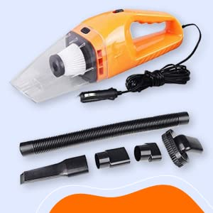 B084CTRYR1- YOZO Car Vacuum Cleaner for Car Vacuum/Sucking, Dust Cleaning Yellow Color- SPN FOR-1