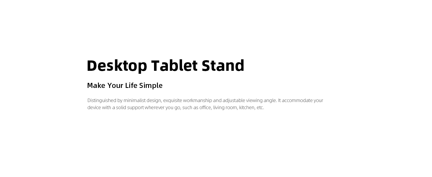 tablet stand