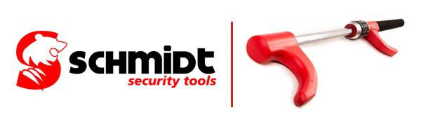 SCHMIDT security tools Lenkradschloss PKW KFZ Auto Diebstahlsicherung Lenkradsperre Lenkradkralle