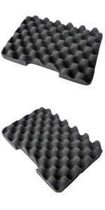 1750 replacement foam apache inch cushion thick firm pads beyerdynamic dekoni seat vault pelican