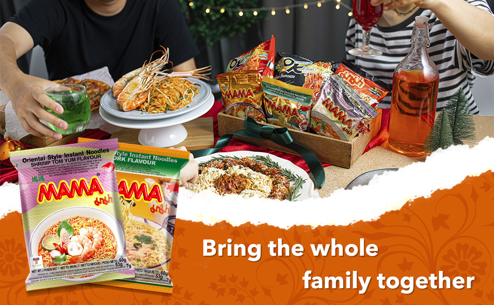 bring the whole family together