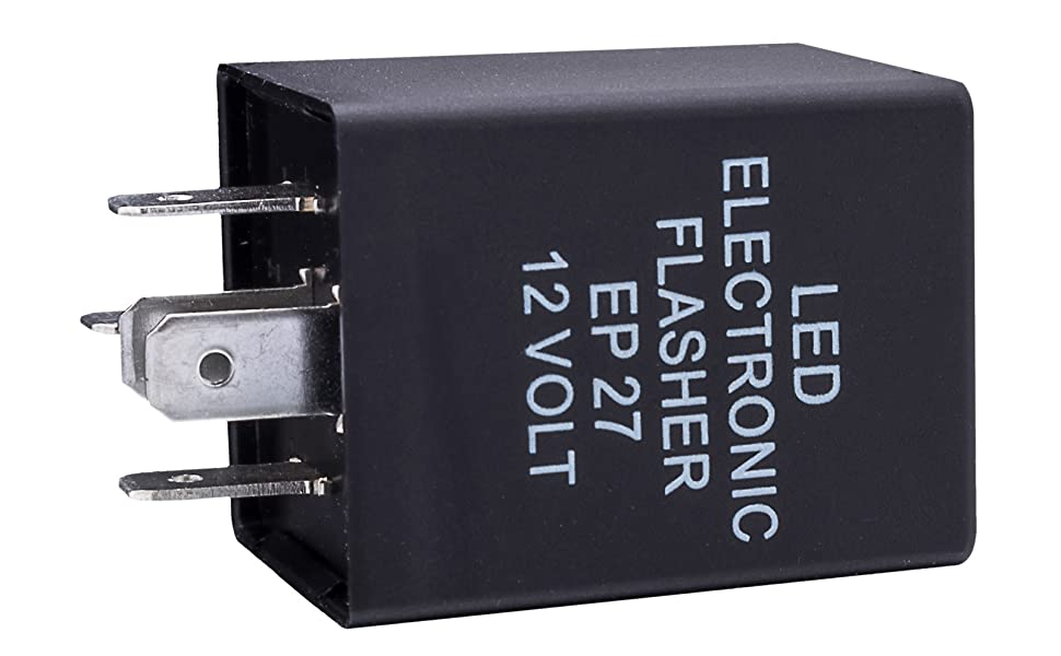 10-Second Time Delay Relay Module, 5-Pin 12V 30A SPDT Compatible with Automotive LED Light Bar