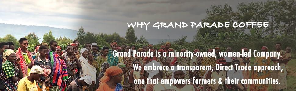 Grand Parade Fair Trade USDA Organic Unroasted Green Coffee Beans Single Origin Home Roaster Arabica