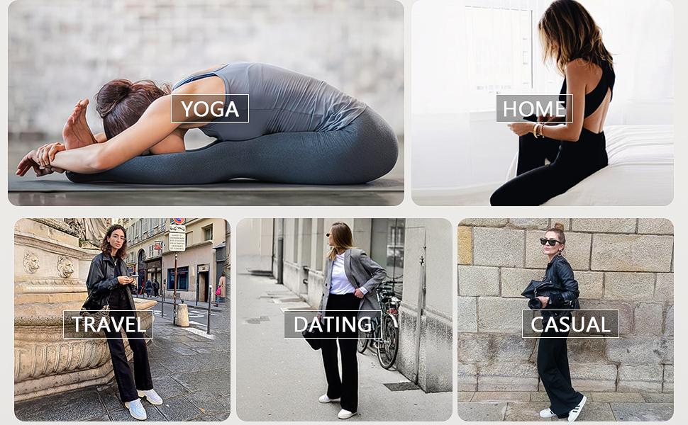 Lounge pants women Womens pajama pants Workout pants for women Wide leg Sweatpants for teen girls