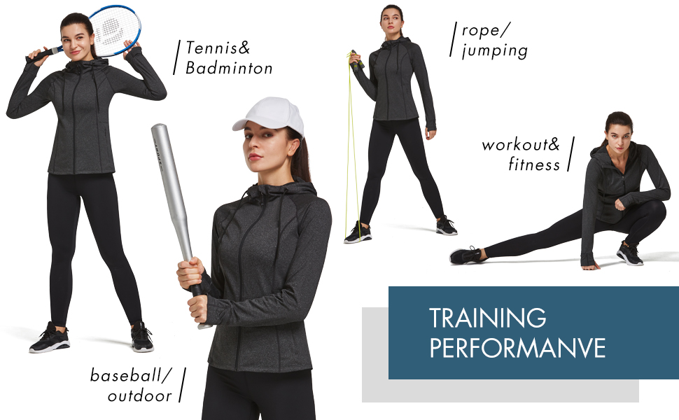 women everyday workout jackets