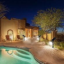 solar light for garden and pool