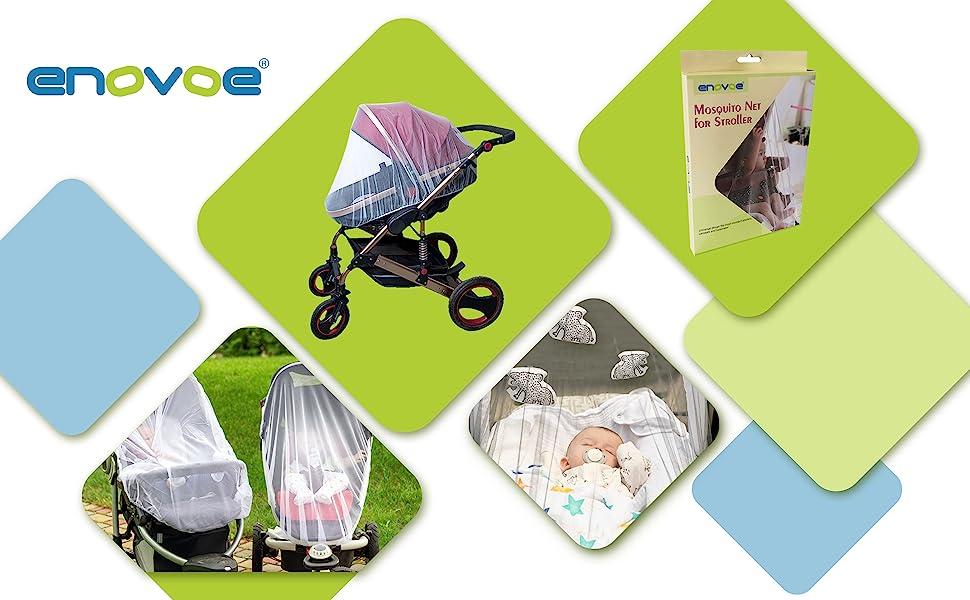 Mosquito stroller net banner 1