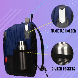 Water Bottol Pocket & Name Tag