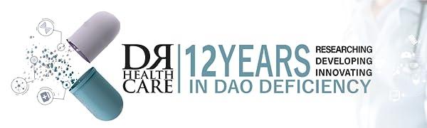 Diamine oxidase (DAO) enzyme nutrition deficit dr healthcare food medicine histamine histaminosis