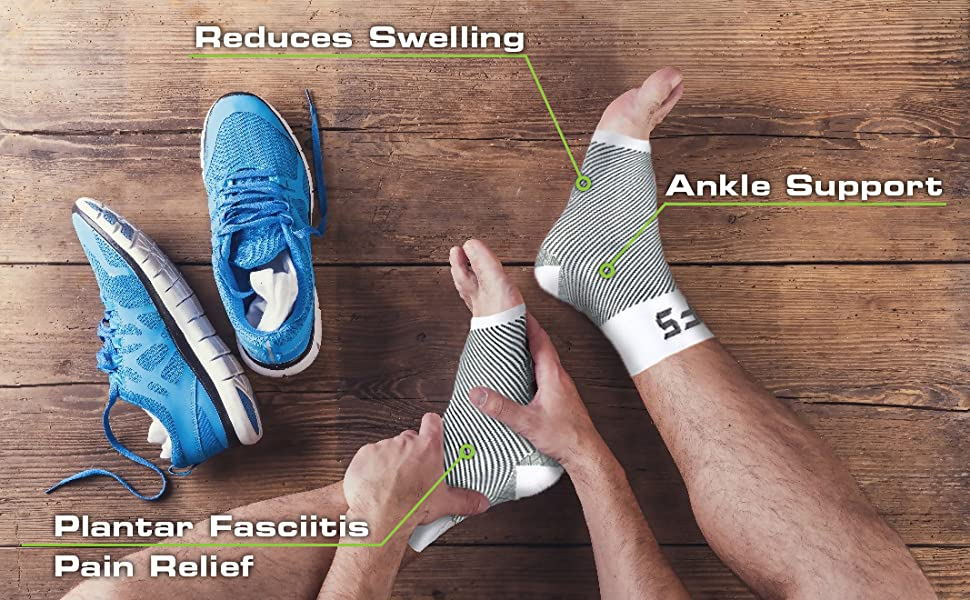 arch wrap brace rehab splint sock orthodic running sports support discomfort relief arch foot pain
