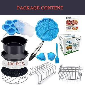 Air Fryer Accessories Package