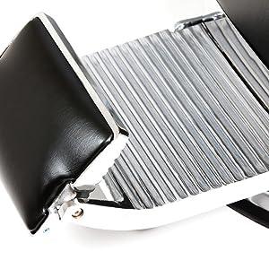 Lincoln Barber Chair Adjustable Footrest