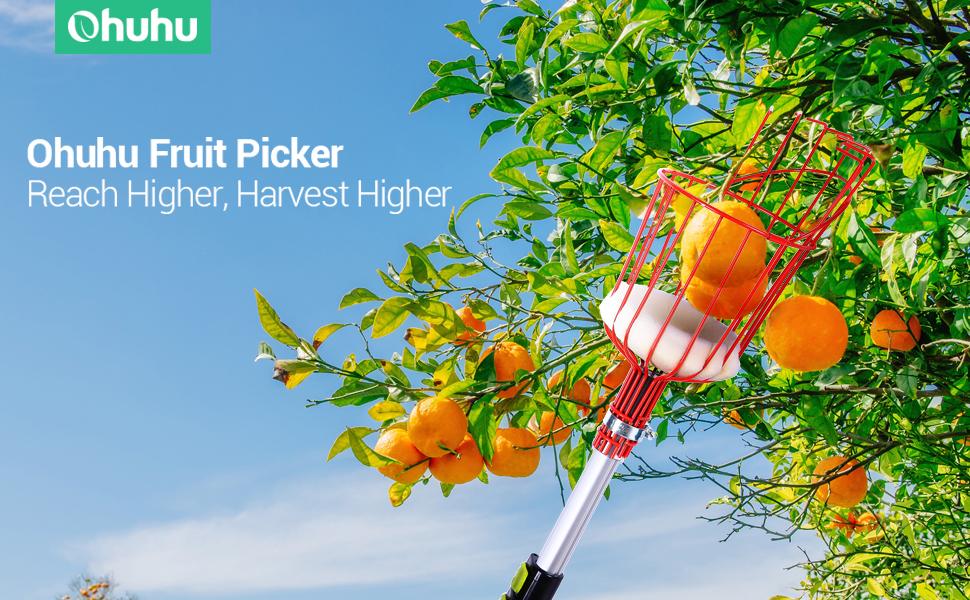 ohuhu fruit picker apple picker
