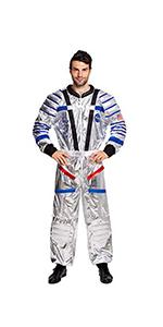 Astronaut Pilot Costume for Men