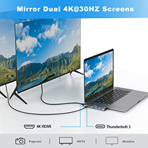 usb c to dual monitor adapter