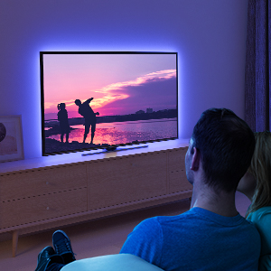 tv led strip light for back light of pc tv laptop and any where you want like desk chair cupboard