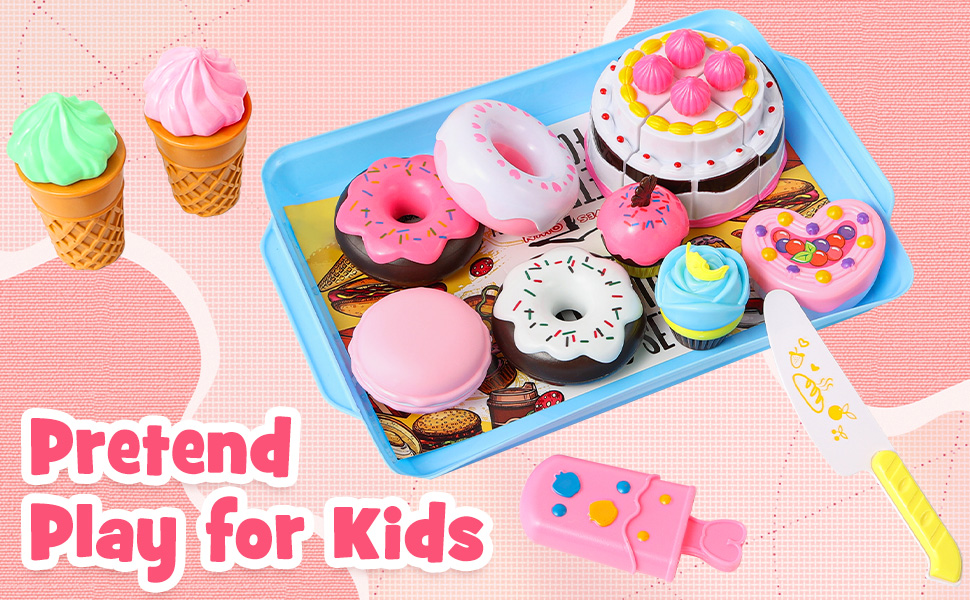 toy food desserts