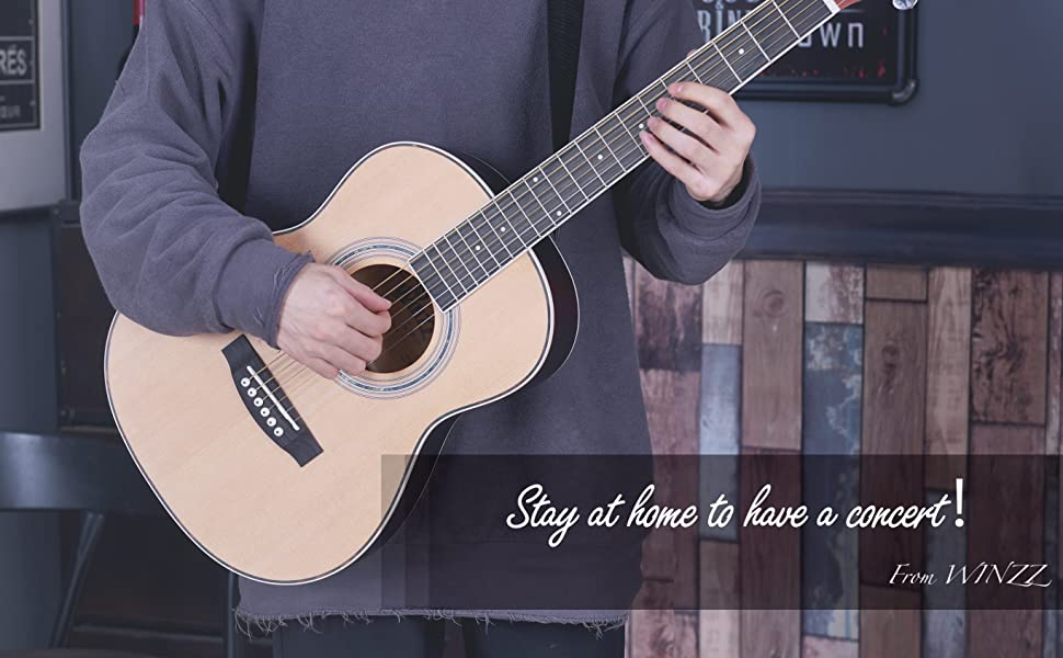 stay home game play guitar