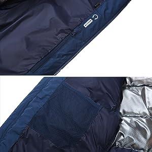 puffy jacket men parka anorak heavy padded