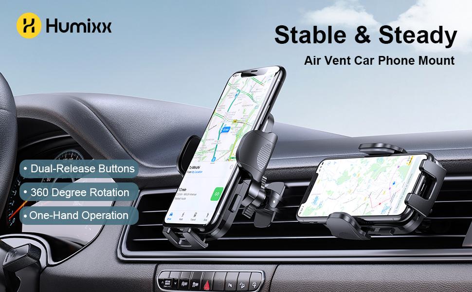 phone car holder, car phone holder mount, car phone mount, air vent phone holder for car