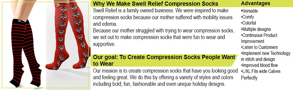 COMPRESSION SOCKS MIDDLE IMAGE