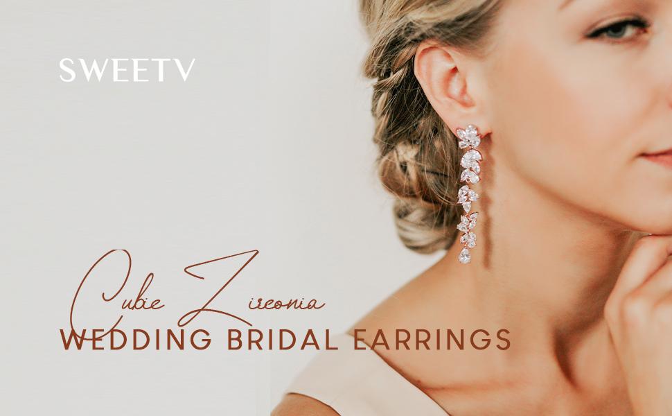 wedding Dangle Earrings