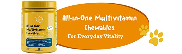 Huggibles All-in-One Multivitamin Chews
