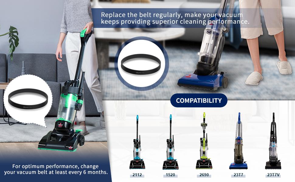 Bissell Powerforce Compact 2112 Brushroll W// Belt H