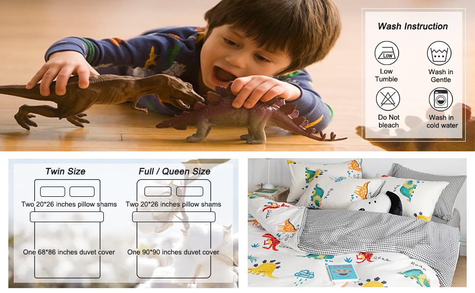 dinosaur comforter set twin