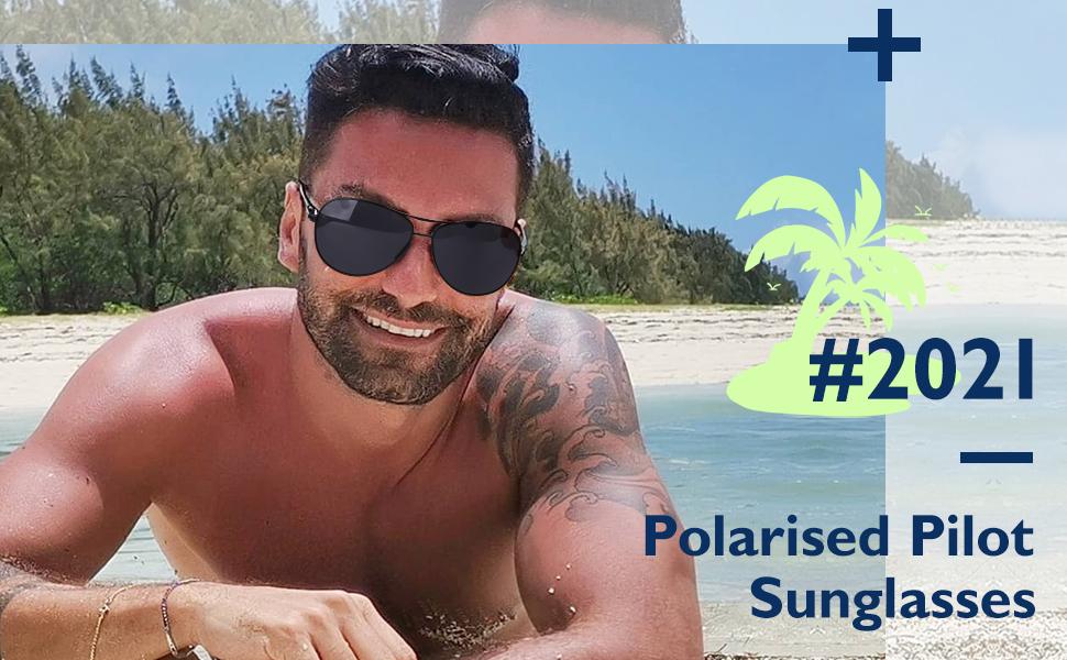 mirrored mens sunglasses Polarised sunglasses for men Black sunglasses for man