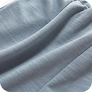 Shorts de algodón puro suave y transpirable son agradable al tacto.