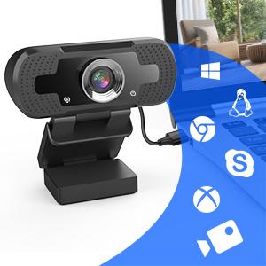 Webbkamera med mikrofon