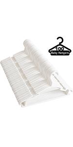 baby hangers 100 pack