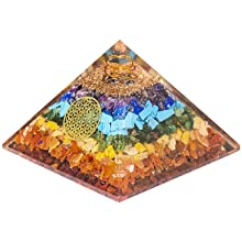 7 chakra orgone pendant