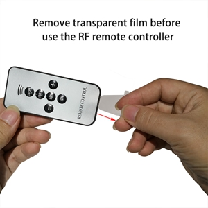 remote controller for deck lights