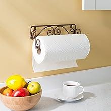 under cabinet paper towel holder, under counter paper towel holder, wall paper towel holder