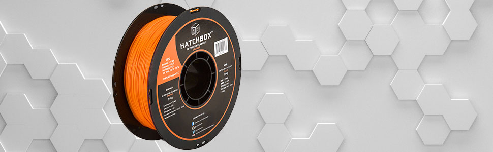 tpu 3d printer filament brings the strength of ABS with added elasticity for versatility