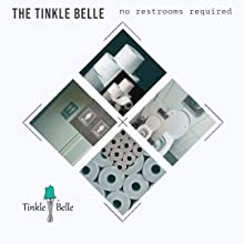 The Tinkle Belle no toilet paper needed
