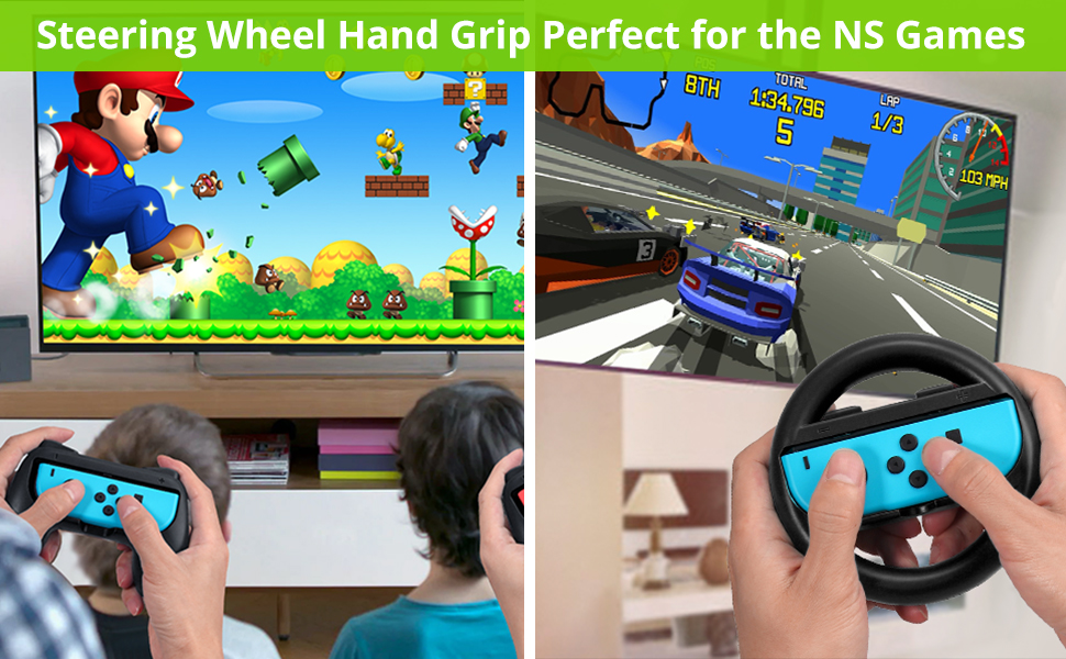 Hand Grip Controller Charger Steering Wheel