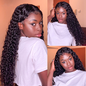 deep wave wig human hair