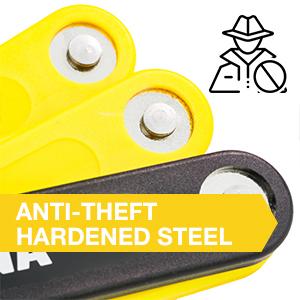 IGTUNA Folding Bike Lock bicycle secure lock