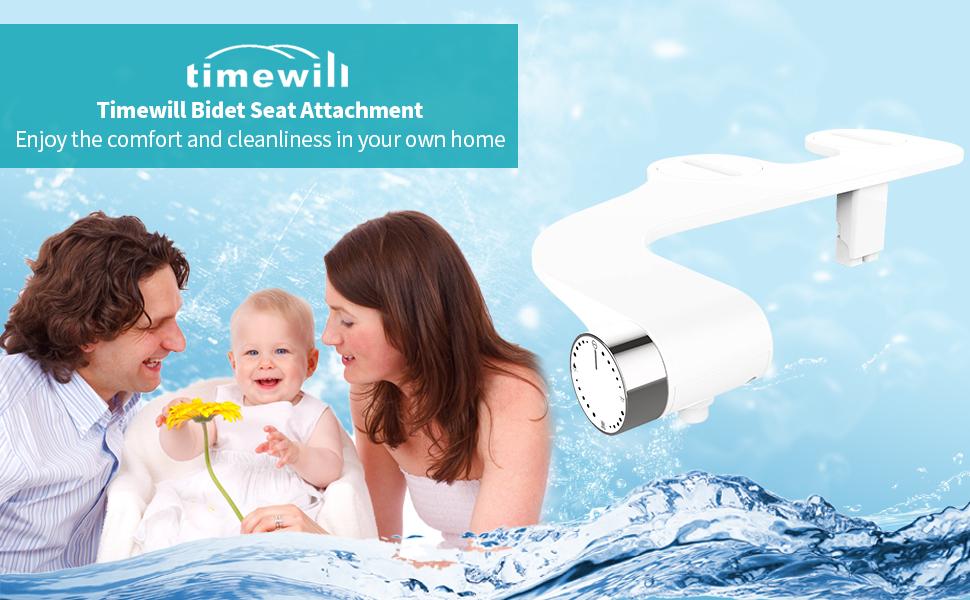 bidet toilet seat attachment