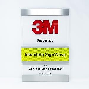 3M Certified Sign Fabricator