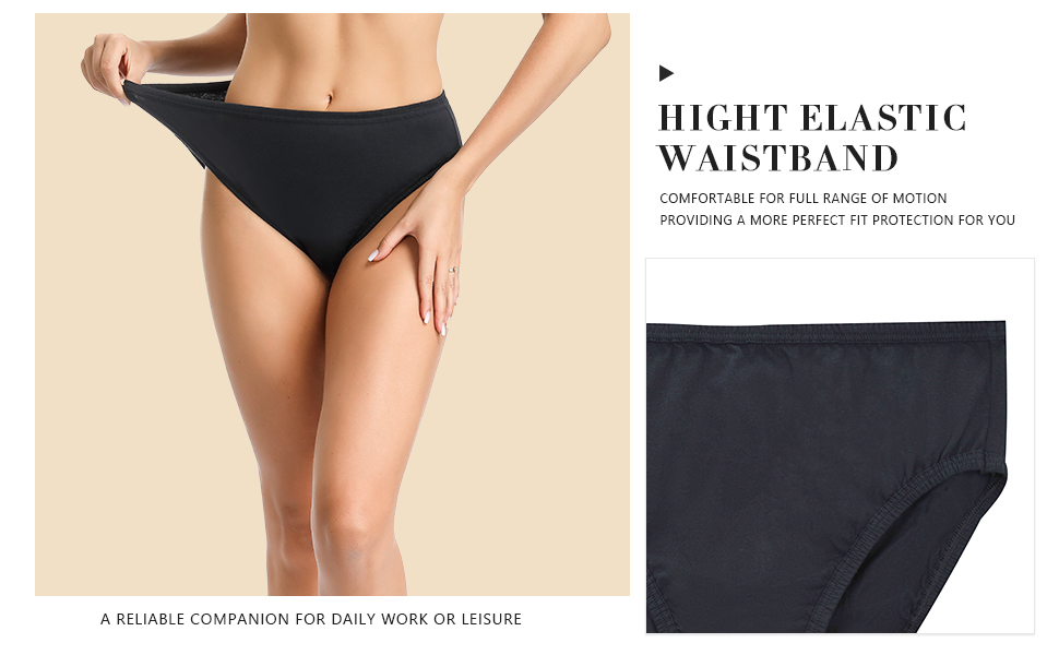 Femmes Taille 20 M /& S High Leg Slips Culottes Slips bandeau dentelle taille Blanc
